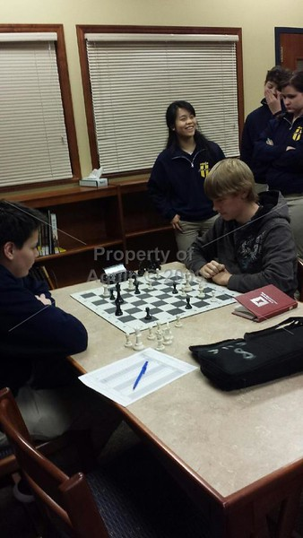 chess meet at sterling newman . 1.19.17