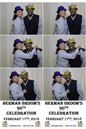 Herman Broom's 90th Celebration