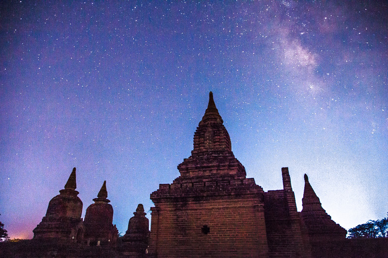 Twilight Pagodas