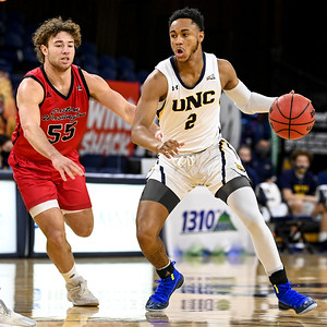 Photos: Northern Colorado Bears men's basketball defeats the Eastern Washington Eagles at Bank of Colorado Arena, 78-76