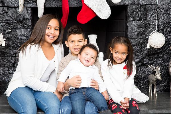 Castillo-Young Holiday Family