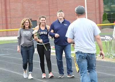 Xavier Track Senior Night 4/25/27