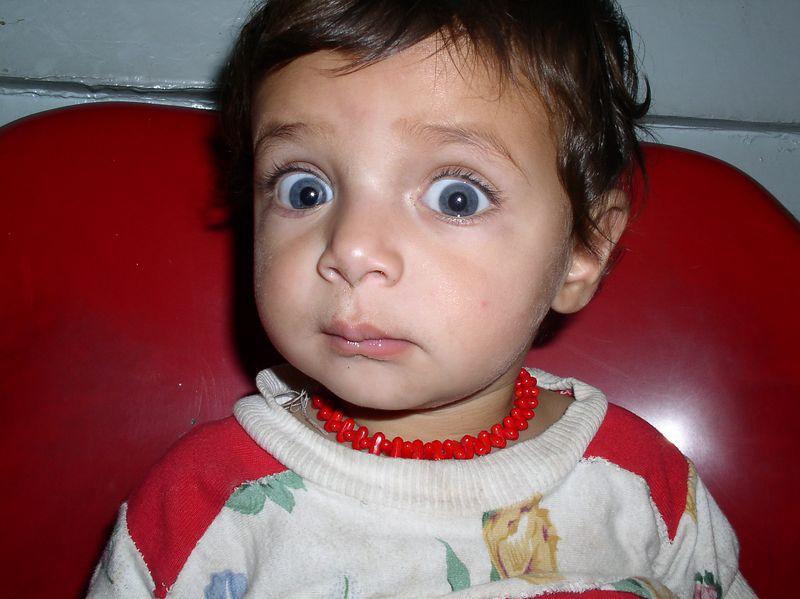 Blue-eyed baby: Iyarina's sibling