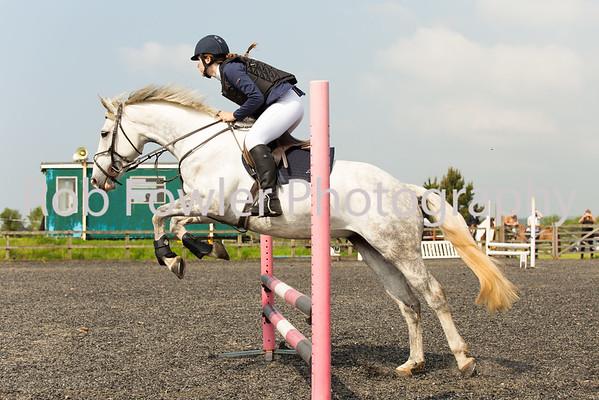 Chanel Kiley riding Betty