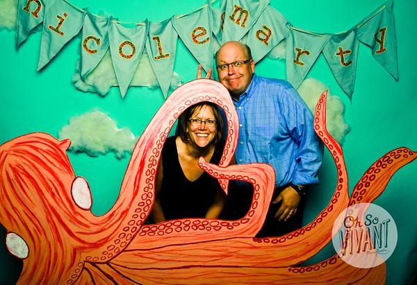 Nicole and Marty