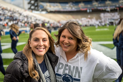 2018 Penn State vs Michigan State Lionette Photos- Homecoming