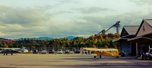 Fall Flight Over the Adirondacks