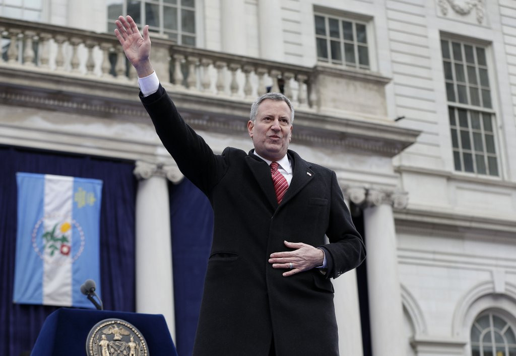 """. <p>7. (tie) BILL DE BLASIO <p>After listening to their new Marxist mayor, New Yorkers starting to think that little Weiner wasn�t so bad after all.   <p><b><a href=\'http://www.twincities.com/national/ci_24827449/bill-de-blasio-sworn-109th-mayor-nyc?source=rss\' target=\""""_blank\""""> HUH?</a></b> <p>    (AP Photo/Seth Wenig)"""