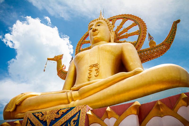 The famous Big Buddha of Ko samui.