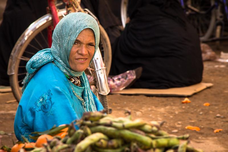 Woman in Risanni Market