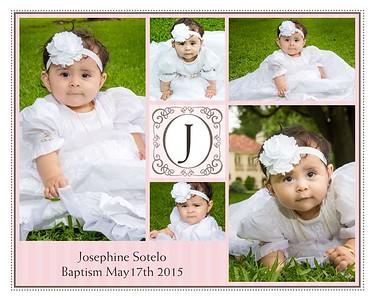 Josephine Sotelo Baptism