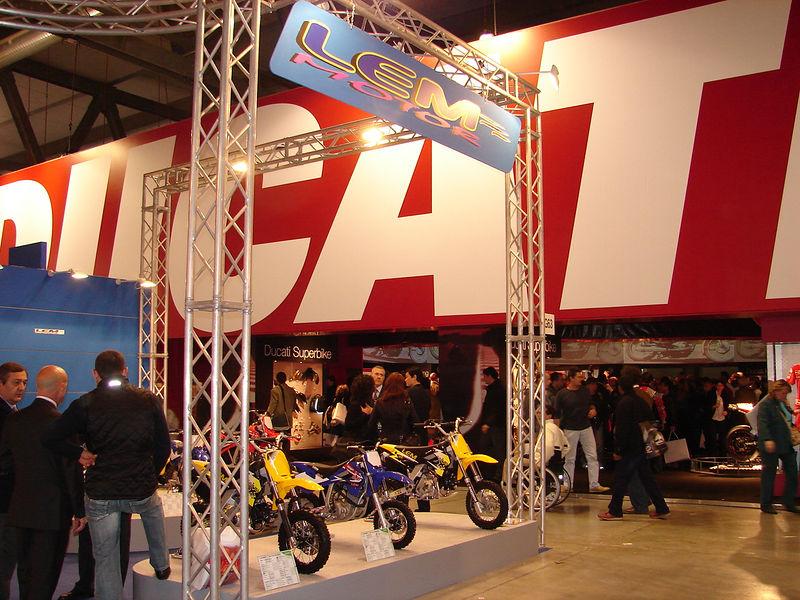 Milan Intermot Motorcycle Show 2005- Milan, Italy