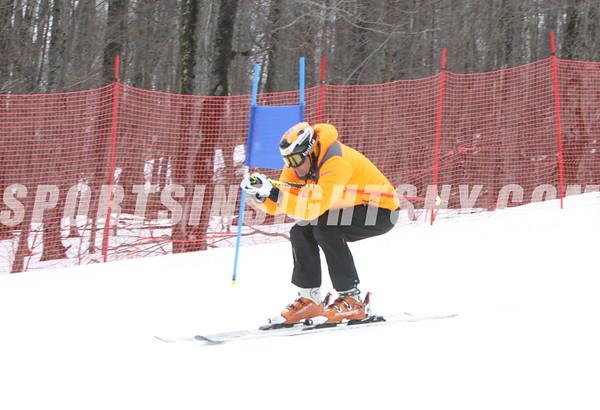 Skiing at Belleayre Mountain 2-2-16