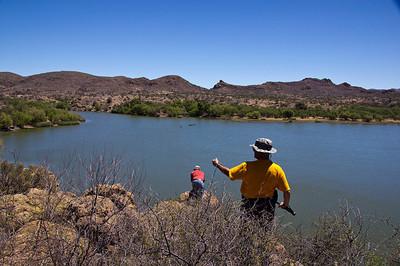 Arivaca Lake--Yellowjacket Mine