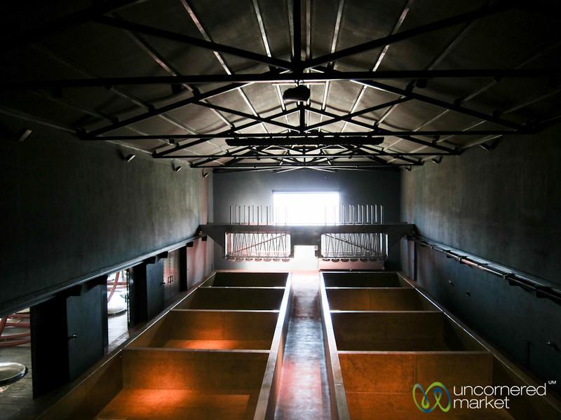 Inside Quinta de Seixo Winery - Douro Valley, Portugal
