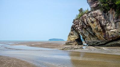Malaisie - J17 - Bako Tajor Beach