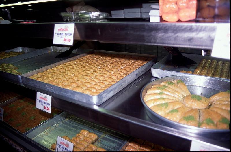 Istanbul pastries