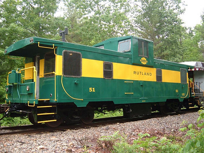 The Rutland Caboose Story