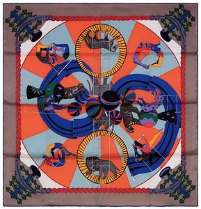 Circus - 70 cm - Grey Blue Orange - NWOCT - 1602111758