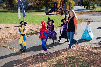 Jacksonwald Halloween Parade 2014