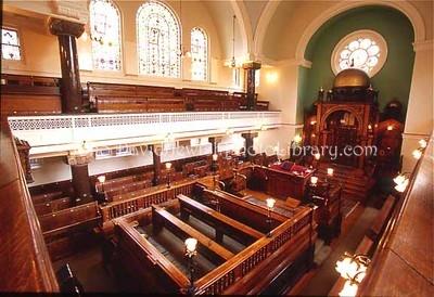 ENGLAND, London. Spanish & Portuguese Jews' Congregation Synagogue (2004)
