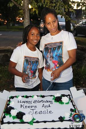 SEPTEMBER 11TH, 2021: SHAKEERAH AND JESSIE'S BIRTHDAY BASH