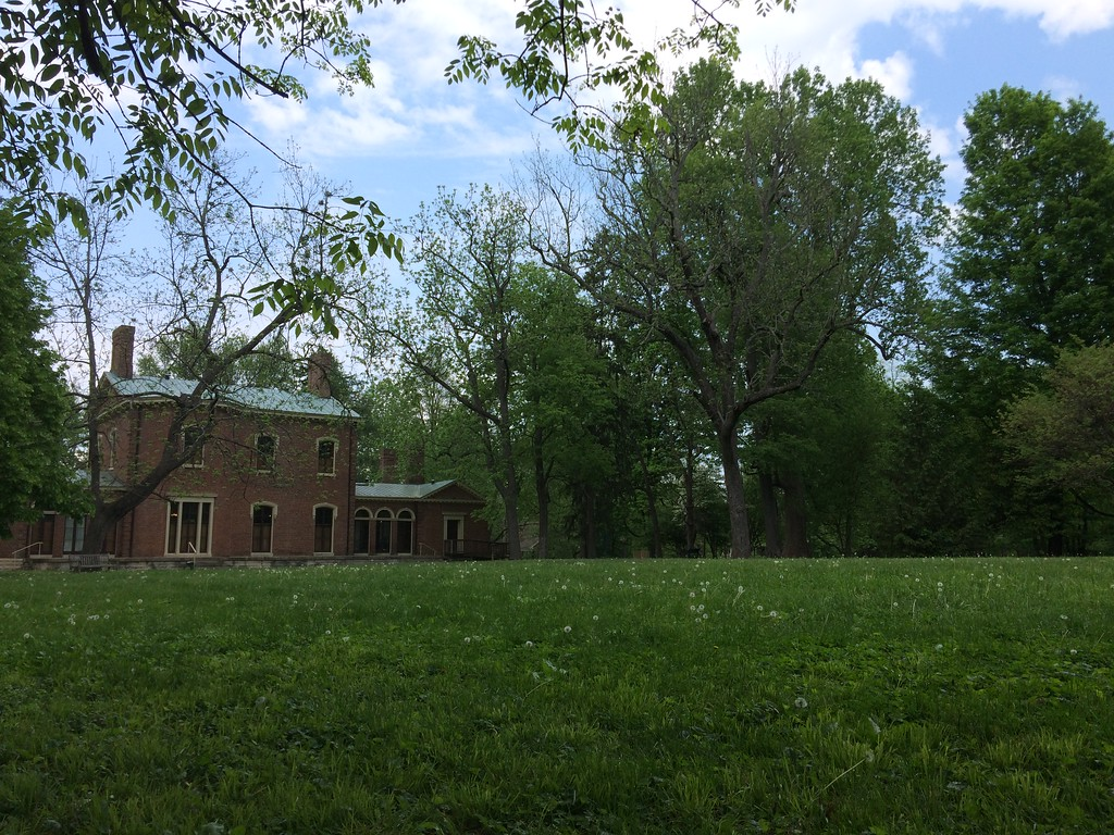 Back view of Ashland Estate, Lexington, Kentucky, May 2015