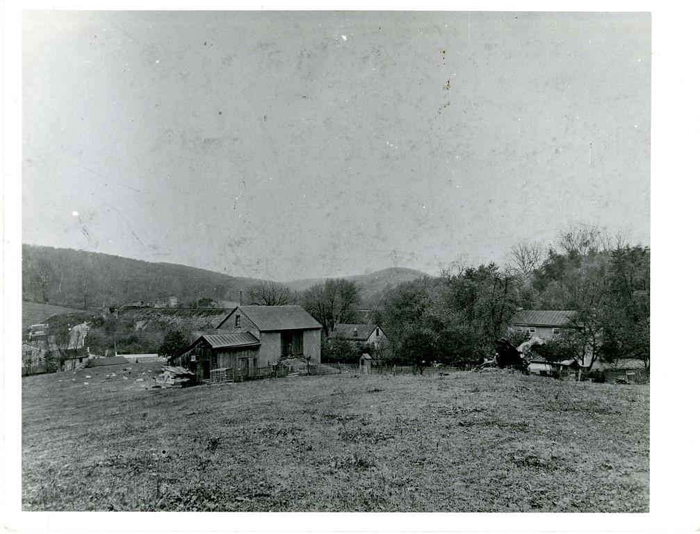 . This undated photo from the Historical Society of Montgomery County shows the McFarland Farm in Gulph Mills.