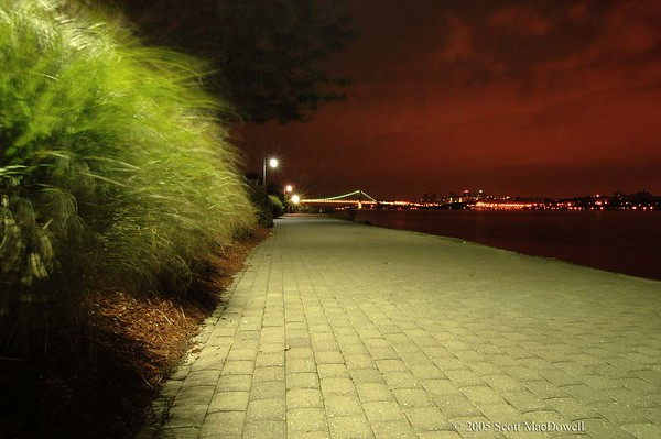 Hudson River and NY skyline