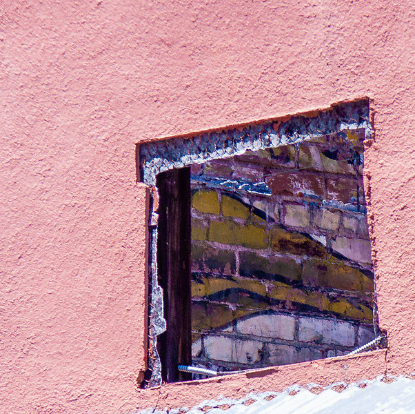 Window opening, Jerome, Arizona, 2004