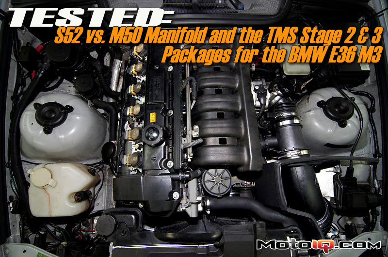 M50 Manifold on S52 – TESTED (With TMS Stage 2 & 3)