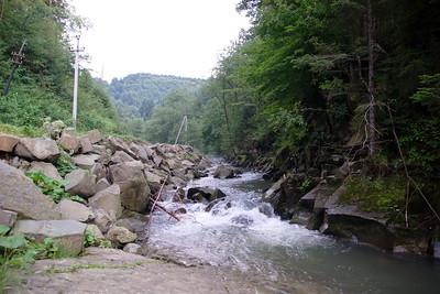 KAMIONKA - Wodospady