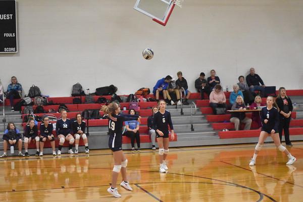 Middle School Volleyball 8th vs. Bennington