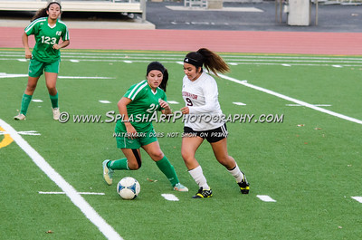 2016 Soccer Eagle Rock Girls vs Sotomayor Wolves 20Jan2016