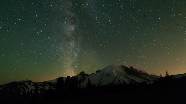 Mt Rainier & The Milky Way - 2013