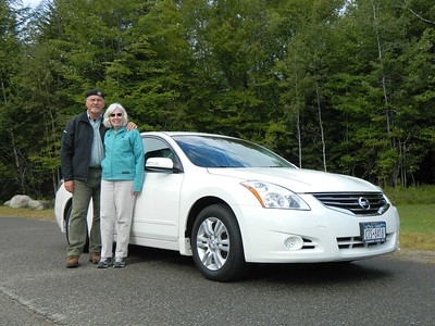 Our 2012 Nissan Altima - sept 2015