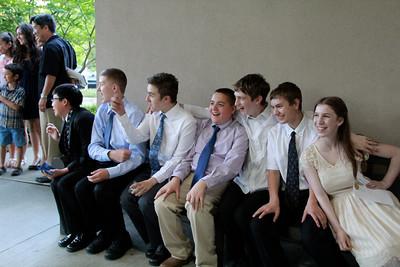 Spencer 8th Grade Graduation