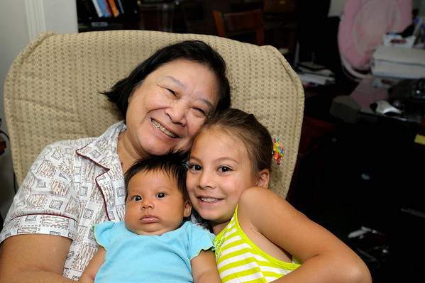 8/17/12 Norah, Micah, Madeline and Grammy