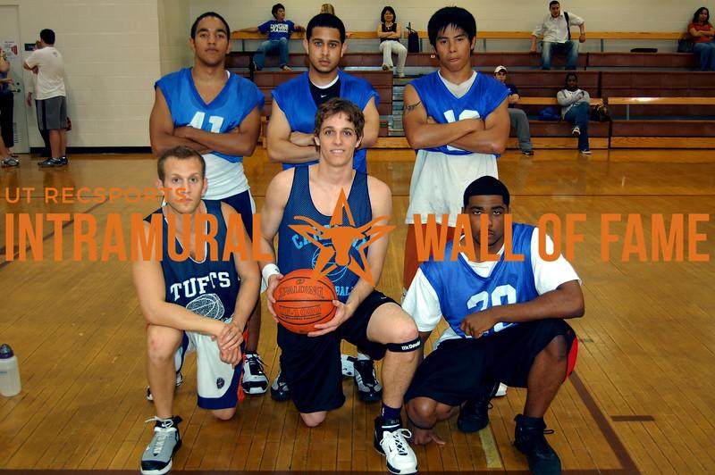 BASKETBALL 6 Foot Runner-Up  Uncle David's Hoop Squad  R1: David Lewis, Richard Schram, Simmie Colson R2: George Gagot, Gabe Thurman, Robert Borromeo