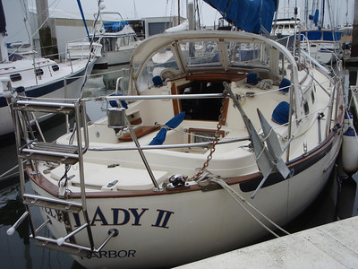 """Pacific Seacraft 37 - """"Lively Lady"""" visit #2"""