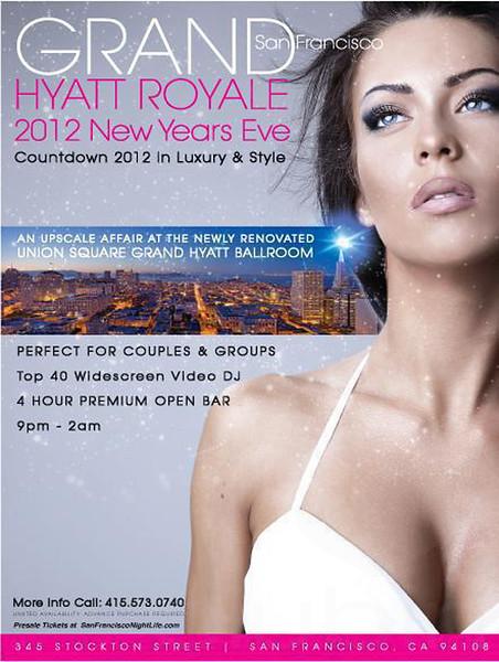 Grand Hyatt Royale SF 2012 NYE