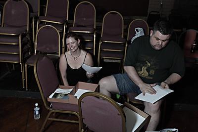 Evil Dead The Musical Rehearsals 9/16-17/09