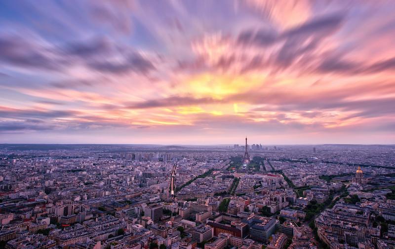 Moving Color in Paris