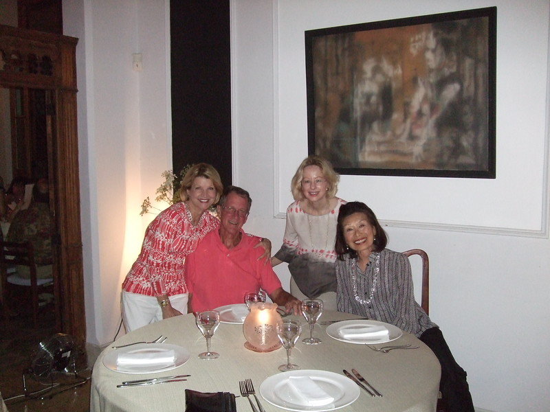 Paladar le Chansonnier with Jeanie, Sandy, Mary, and Christine - Sandy Kirkpatrick