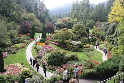 Butchart Gardens - Sunken Garden [1 of 8] - 26 September 2017