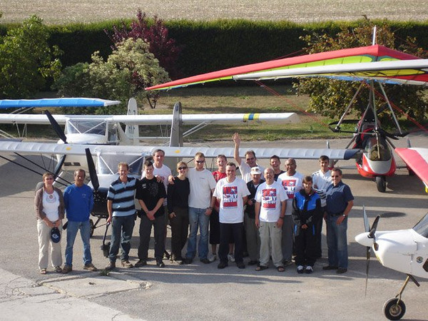 British Microlight Team
