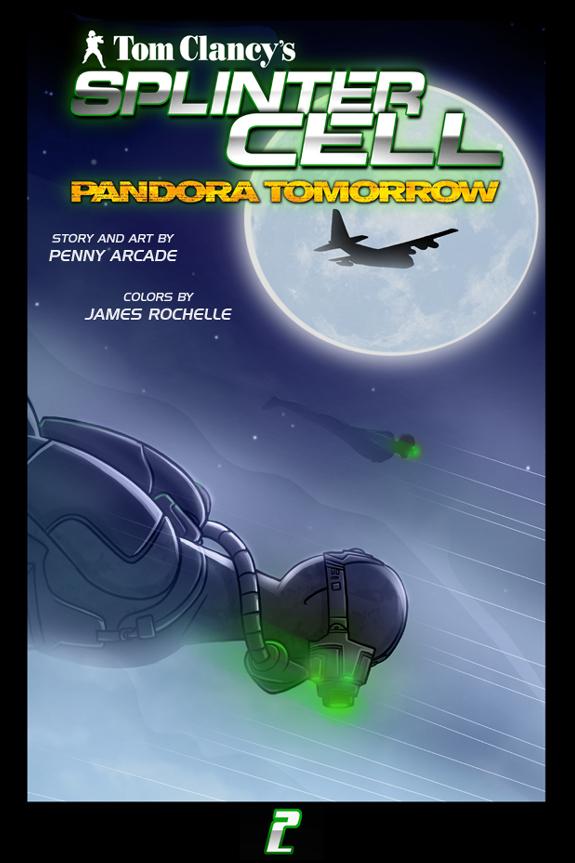 Splinter Cell Pandora Tomorrow Page 2