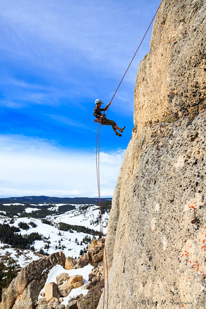 Climbing the Bighorns - WY