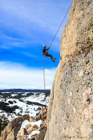 Climbing the Bighorns - WY
