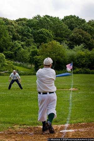 Old Time Baseball - Old Bethpage Village